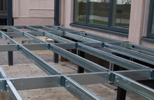 Galvanished Steel Structure Frames Kent