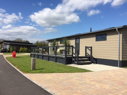 Luxury Holiday Home Decking In Kent