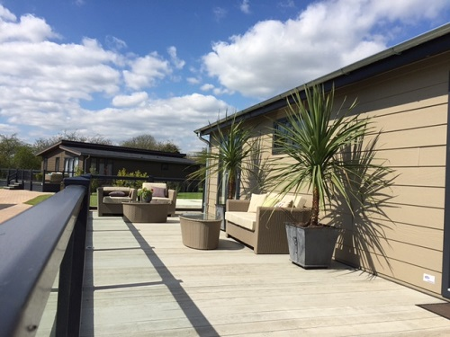 Luxury Holiday Home Decking Kent