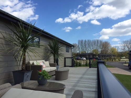 Luxury Professional Holiday Home Decking In Kent