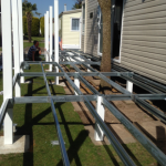 Steel Frame Veranda Construction Kent